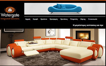 Portfolio Watergate - Κατασκευή Ιστοσελίδων furniture.supersites.gr